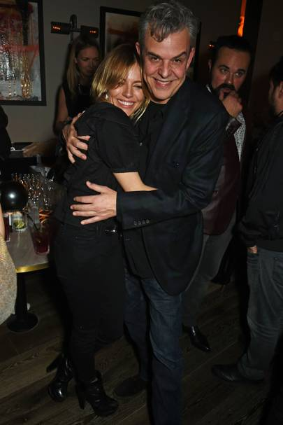 Sienna Miller and Danny Huston