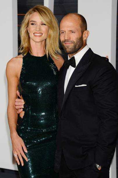 Rosie Huntington Whiteley and Jason Statham