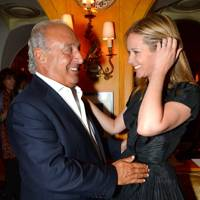 Sir Philip Green and Kate Reardon