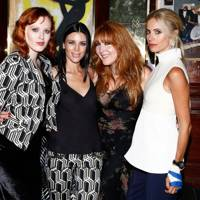 Karen Elson, Liberty Ross, Charlotte Tilbury and Laura Bailey