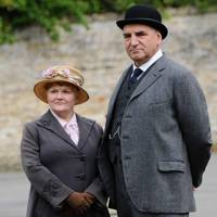 Lesley Nicol and Jim Carter