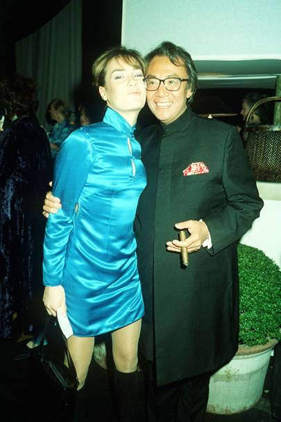 Tara Palmer-Tomkinson and Sir David Tang, 1998