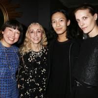 Angelica Cheung, Franca Sozzani, Alexander Wang and Vanessa Traina