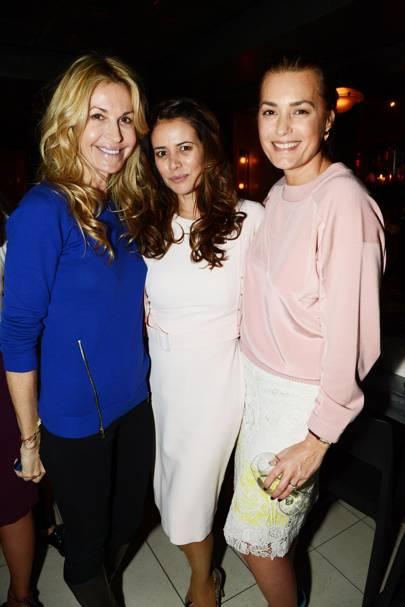 Melissa Odabash, Caroline Acosta and Yasmin Le Bon