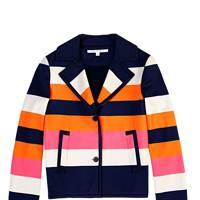 Jacket, £490, by Diane von Furstenberg