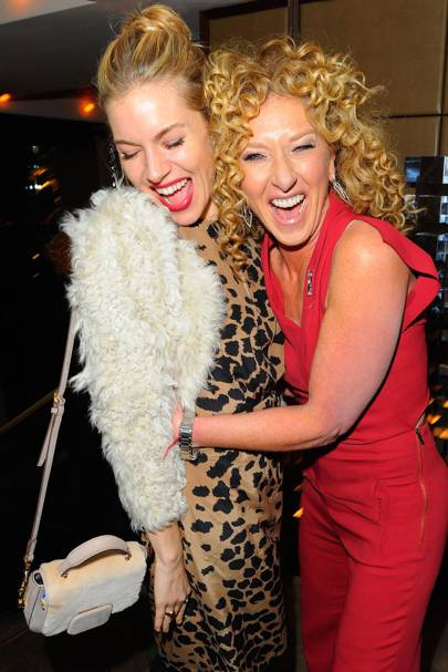 Sienna Miller and Kelly Hoppen