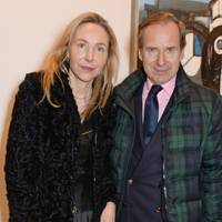 Michaela de Pury and Simon de Pury