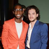 Tinie Tempah and Kit Harrington
