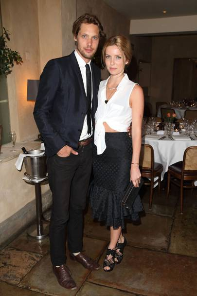 Annabelle Wallis and James Rousseau