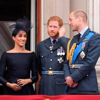 The Duchess of Sussex, the Duke of Sussex and the Duke of Cambridge
