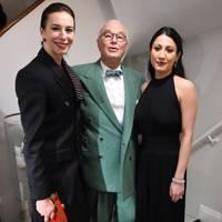 Kristina Blahnik, Manolo Blahnik and Jino Murad