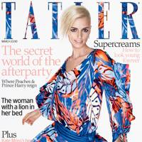 Tatler cover, March 2009