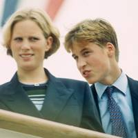 Zara Phillips and the Duke of Cambridge