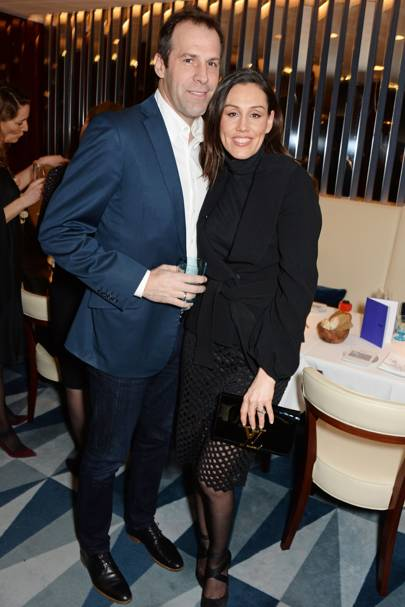 Greg Rusedski and Lucy Rusedski