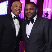 Russel Simmons and Anthony Anderson