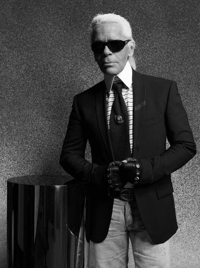 When the Editor of Tatler interviewed Karl Lagerfeld