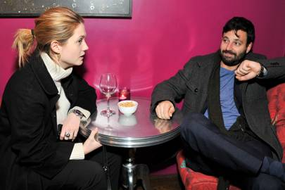 Bonnie Wright and Simon Hammerstein