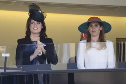 Princess Eugenie and Princess Beatrice