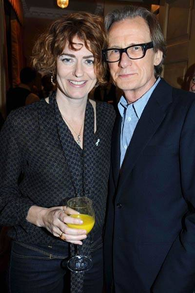 Bill Nighy and Anna Chancellor
