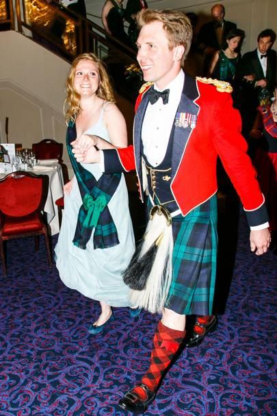 Harriet Stevens and Captain Jonathan Kerr