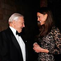 The Duchess of Cambridge and Sir David Attenborough