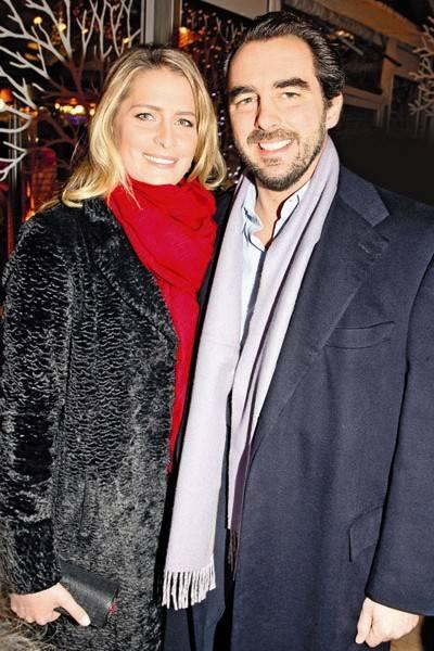Princess Nikolaos of Greece and Prince Nikolaos of Greece