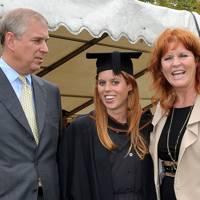 The Duke of York, Princess Beatrice and Sarah, the Duchess of York