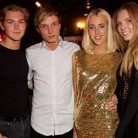 Niklas Gustafson, James Gartshore-Boulter, Georgia Nicoll and Katie Boulter