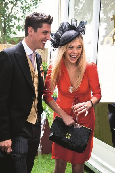 Jake Warren and Chelsy Davy