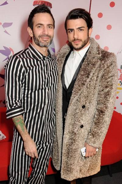 Marc Jacobs and Harry Louis