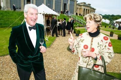 Jeremy Paxman and Belinda Dimbleby