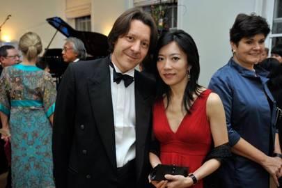 Dr Neal Muir and Fei Yang