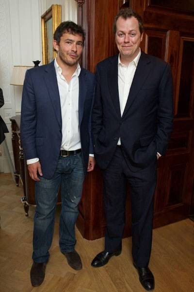 Giles Coren and Tom Parker Bowles