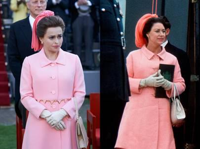 Helena Bonham Carter como Princess Margaret