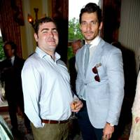 Andy Reid and David Gandy