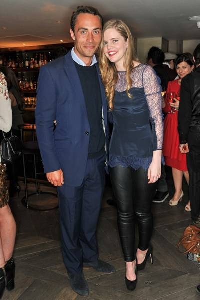 James Middleton and Katie Readman