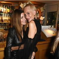 Sara MacDonald and Poppy Delevingne