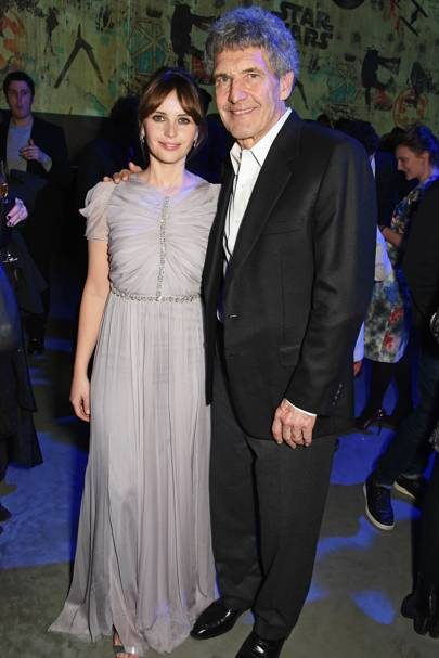 Felicity Jones and Alan Horn
