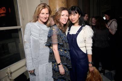 Elizabeth von Guttman, Clare Waight Keller and Mimi Xu