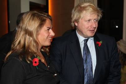 Tracey Emin and Boris Johnson