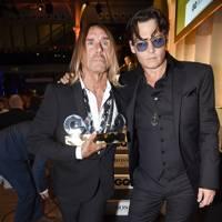 Iggy Pop and Johnny Depp