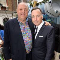 David Furnish and Jean Pigozzi