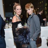 Edie Campbell and Tamara Drax
