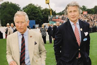 The Prince of Wales and Arnaud Bamberger