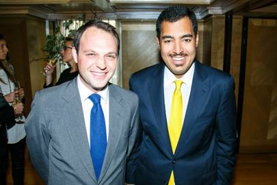 Ed Sackville and Sheikh Fahad Al Thani