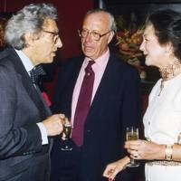 The Earl of Gowrie, Vincent Poklewski-Koziell and Mrs Vincent Poklewski-Koziell
