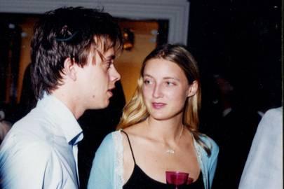 Peter Hobbs and Eva Rice