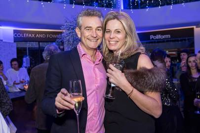 Richard Miers and Jennifer Manners