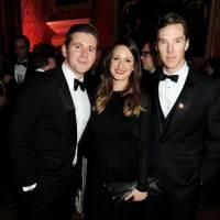 Allen Leech, Doone Forsyth and Benedict Cumberbatch