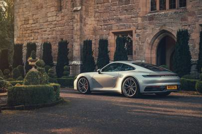 The new Porsche 911 Carrera 4S‎ is where practicality meets style